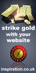 Strike Gold With a Website by Design Inspiration
