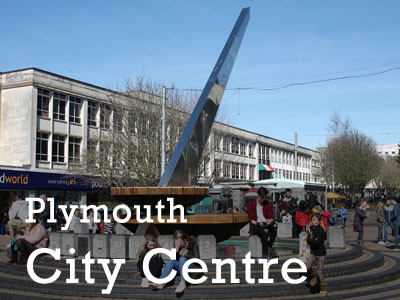 Plymouth City Centre photo gallery
