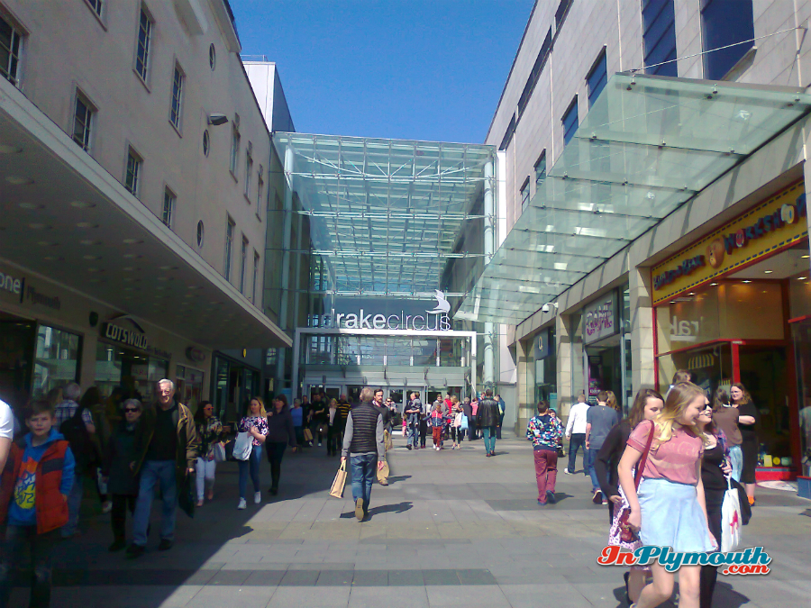 Drake Circus Shopping Mall, Plymouth