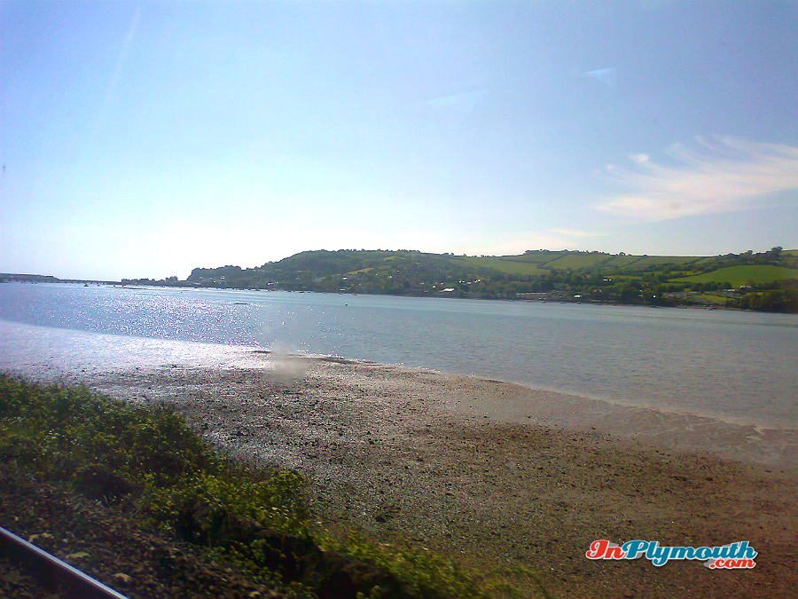 View From the train Approaching Plymouth