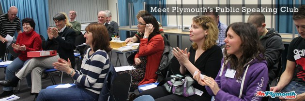 Meet Plymouth's Public Speaking Club