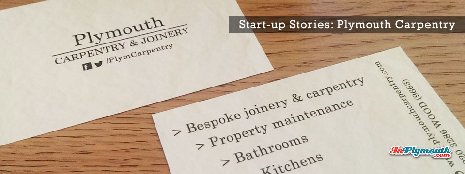 Start-up Stories: Plymouth Carpentry