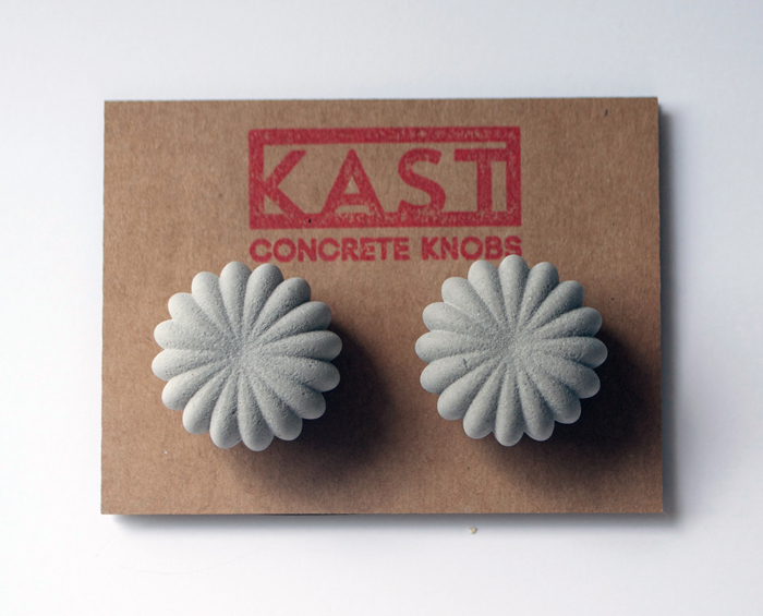 kast concrete knobs