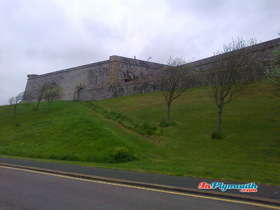 Royal Citadel in Plymouth