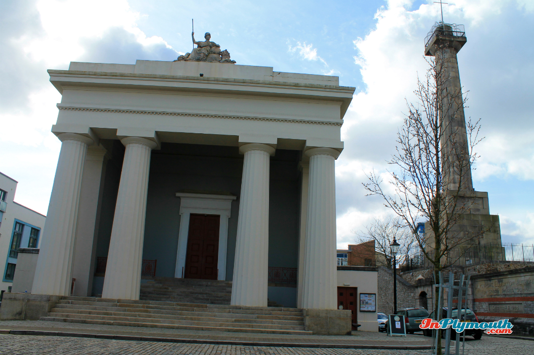 Devonport Guildhall and Column, Plymouth
