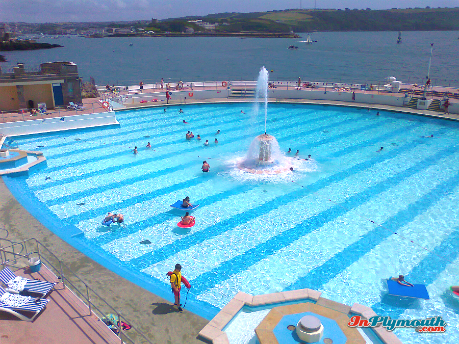 Tinside pool, Plymouth Hoe