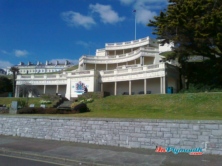 The Belvedere, Plymouth Hoe