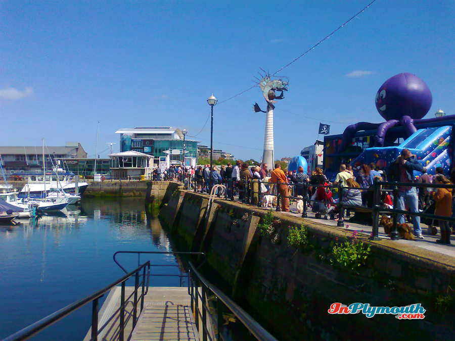 Sutton Harbour May 2015