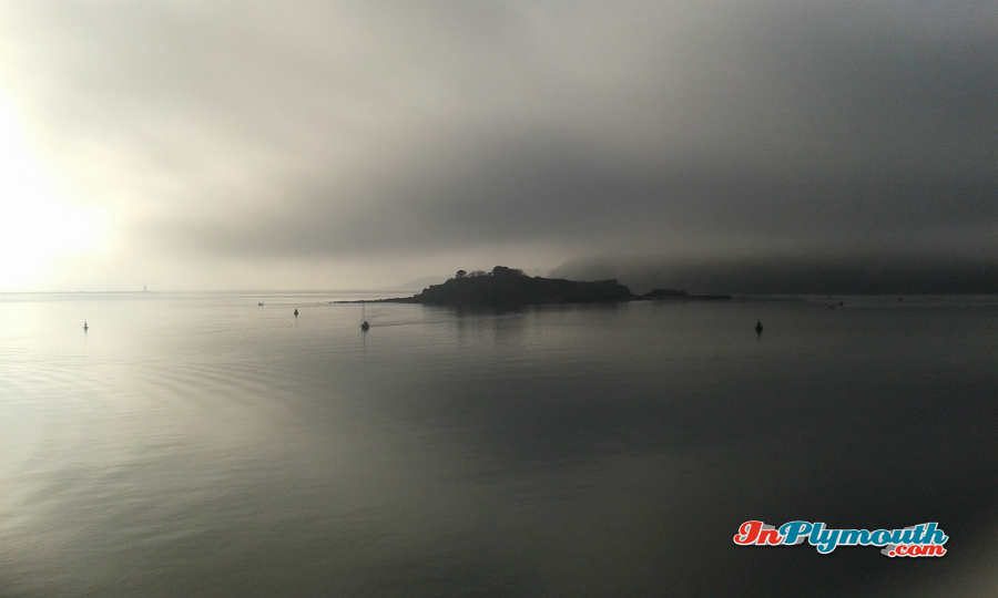 Mist on Plymouth Hoe January 2017
