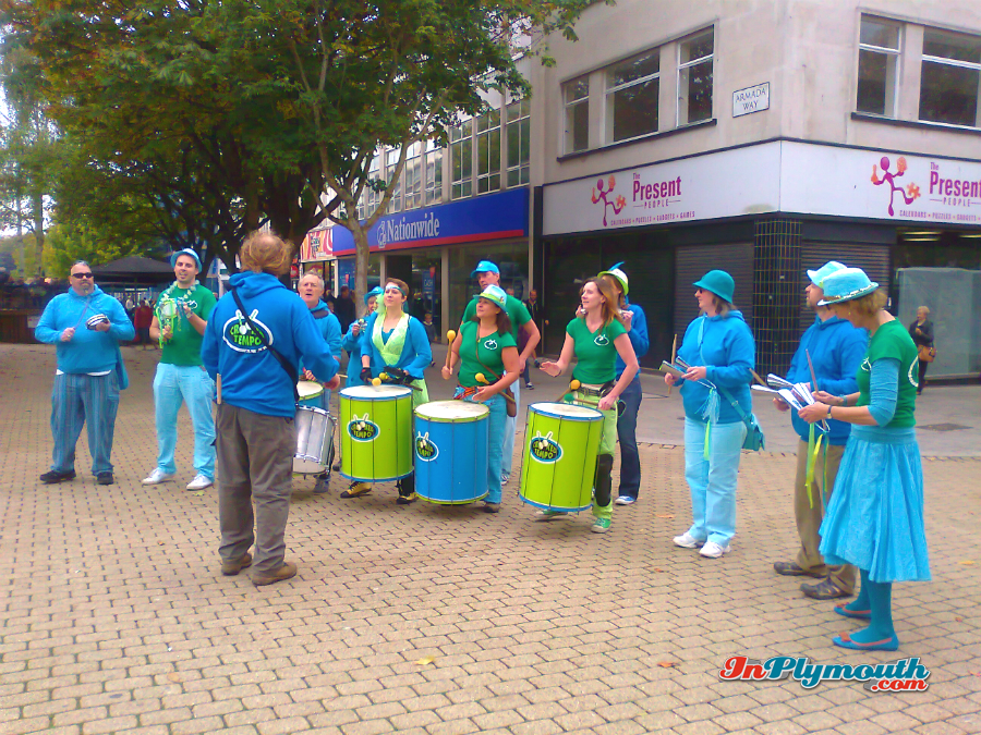 Plymouth City Centre 2015