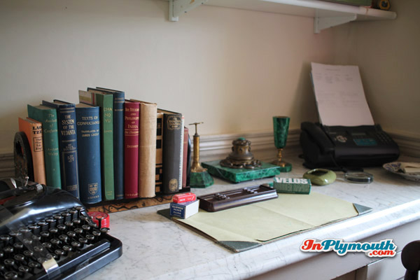 Agatha Christie's desk